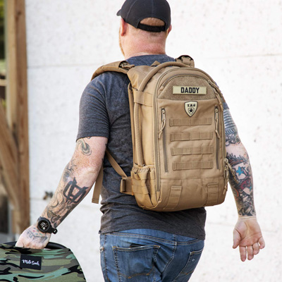 TBG Daypack 3.0 Tactical Diaper Bag Backpack