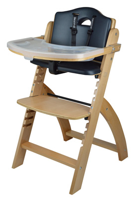 Best-Baby-High-Chairs-for-Infants-Abiie-Beyond-Wooden-High-Chair