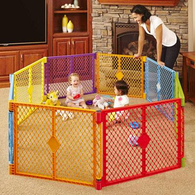 Best-Baby-Play-Yard-in-the-Market-Baby-Play-Yard-North-States-Superyard