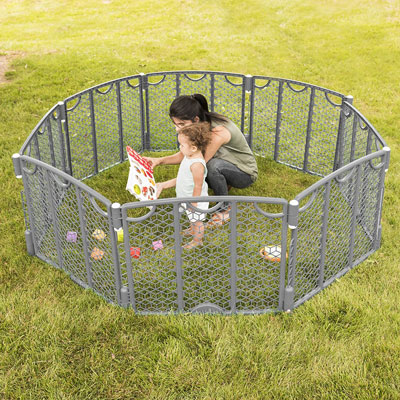 Best-Baby-Play-Yard-in-the-Market-Baby-Play-Yard-evenflo